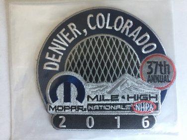 2016 NHRA Event Patch Denver