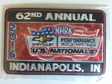 2016 NHRA Event Patch Indy