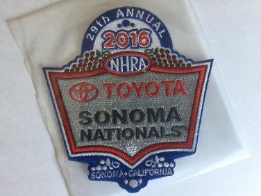 2016 NHRA Event Patch Sonoma