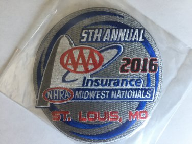 2016 NHRA Event Patch St. Louis