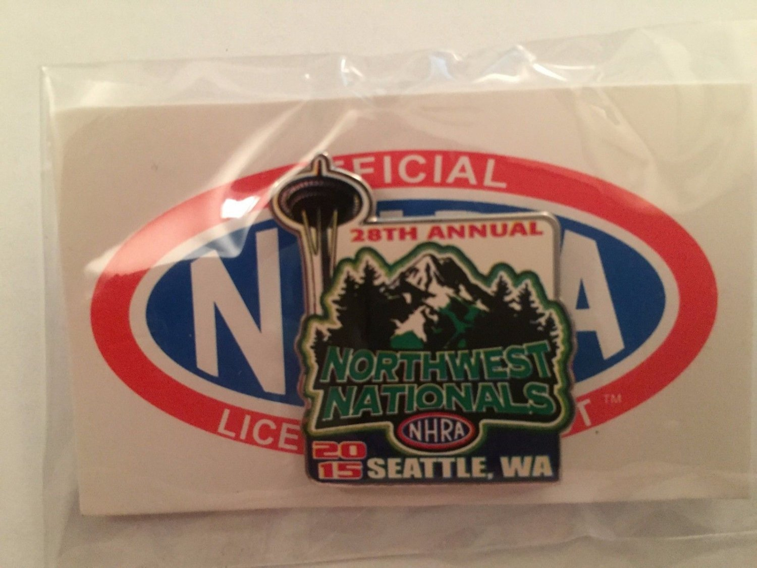 2015 NHRA Event Pin Seattle