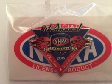 2015 NHRA Event Pin Charlotte Fall Race