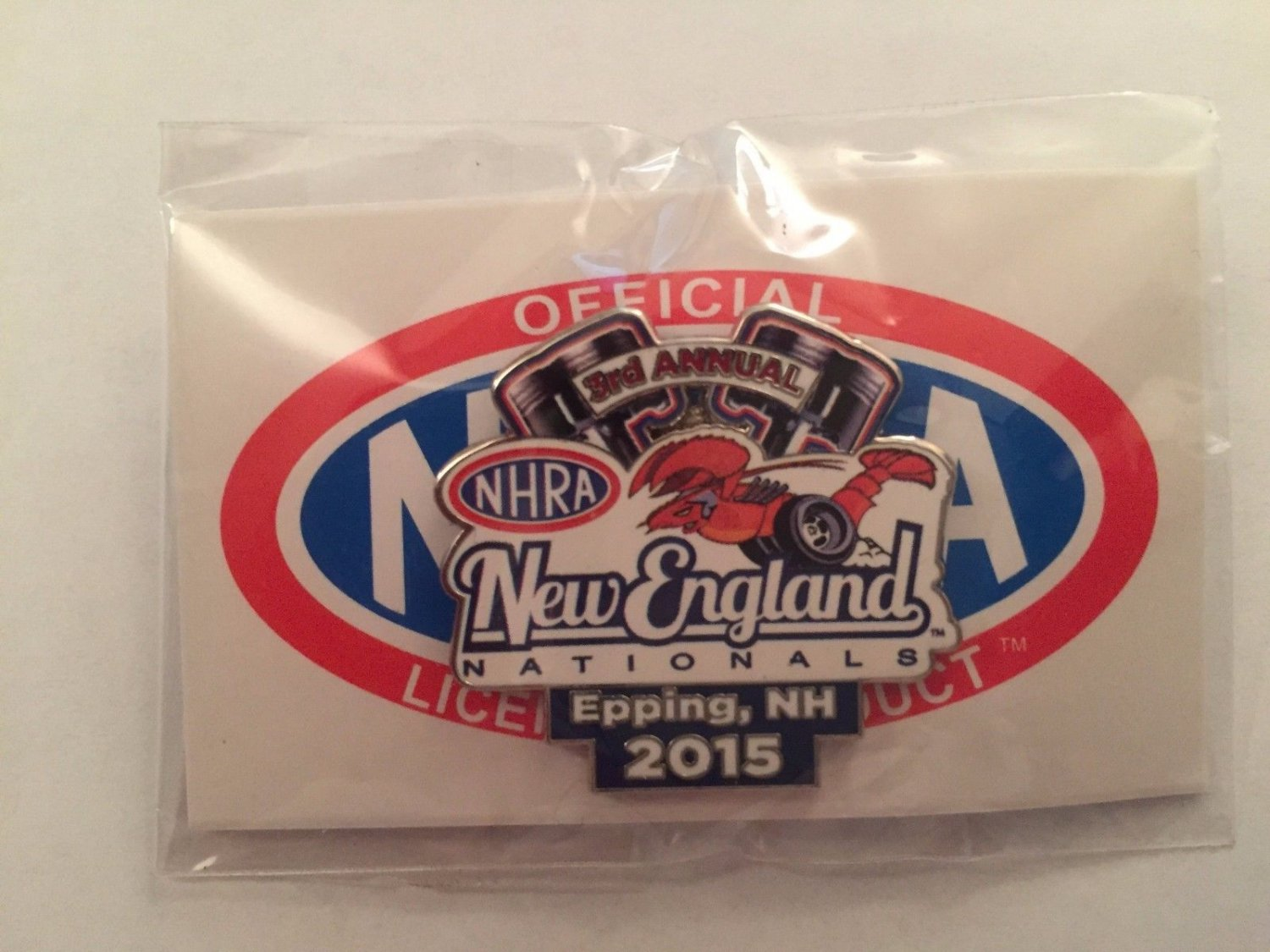 2015 NHRA Event Pin Epping