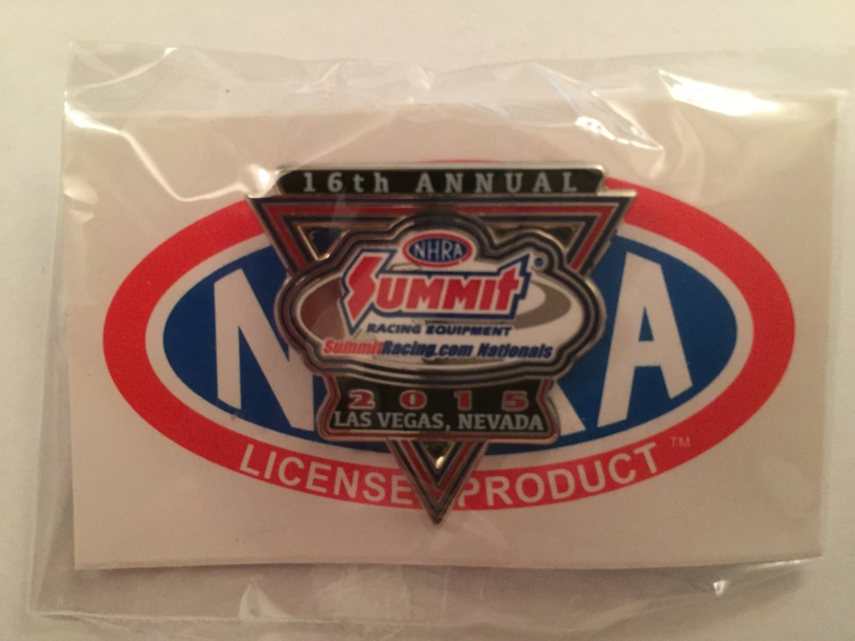2015 NHRA Event Pin Las Vegas Spring Race (version #1)