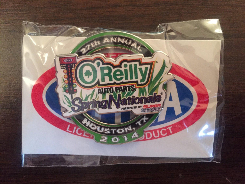 2014 NHRA Event Pin Houston (version #2)