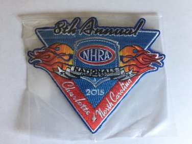 2015 NHRA Event Patch Charlotte Fall Race