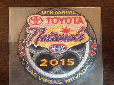 2015 NHRA Event Patch Las Vegas Fall Race