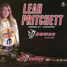 2017 NHRA TF Handout Leah Pritchett (Dodge Demon)