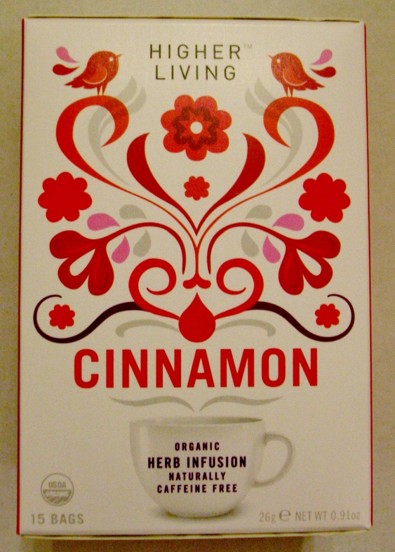 Heavenly Higher Living Cinnamon Tea - Organic (same postage for multiple boxes)