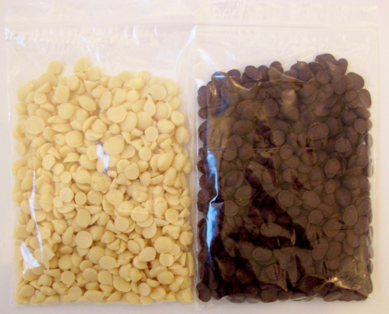 *DAIRY FREE CHOCOLATE CHIPS (160g) WHITE, DARK & DARK SUGAR FREE ALSO AVAILABLE!