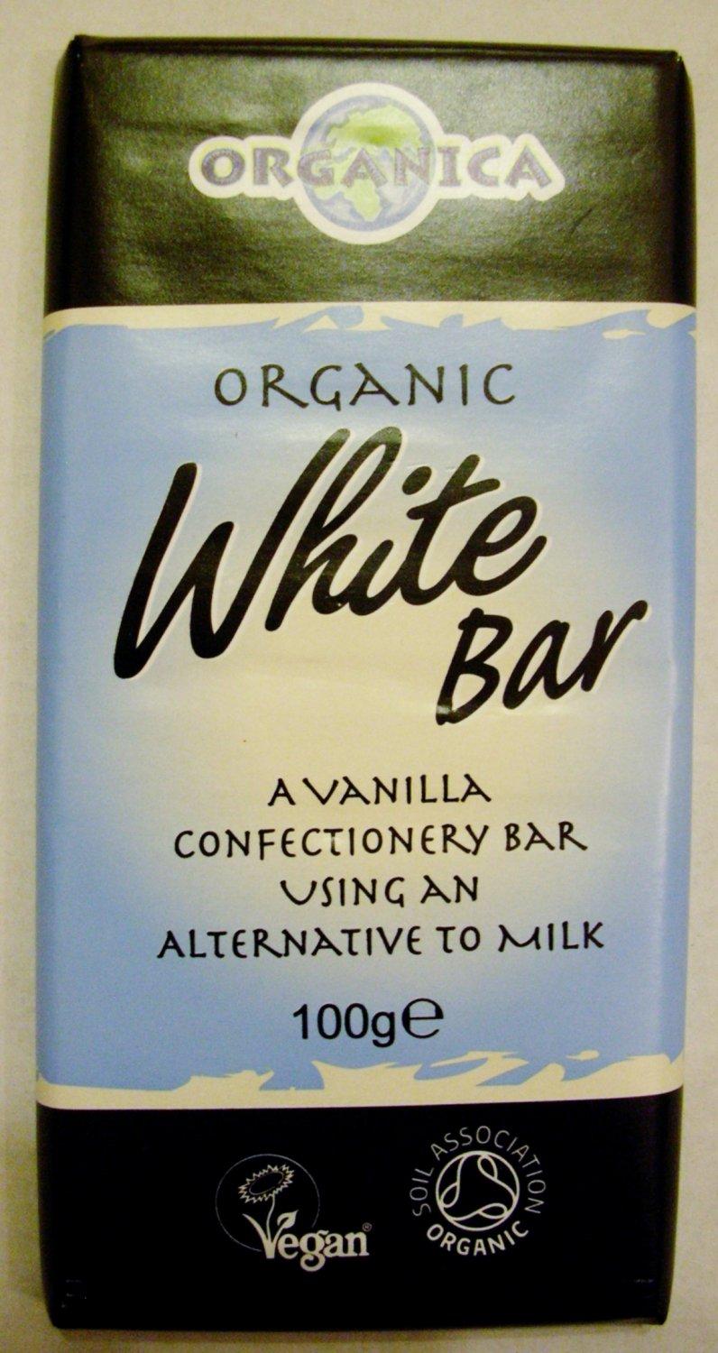 *Organica White Chocolate bar - Vegan, Dairy, Gluten Free*