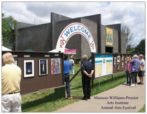 Munson-Williams-Proctor Arts Institute Annual Art Show Postcard.50 Postcards for $15