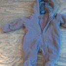 Faded Glory baby boy brown sleepwear/outfit 0-3 mos
