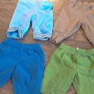 Lot of 4 baby boy's pants 0-3 mos