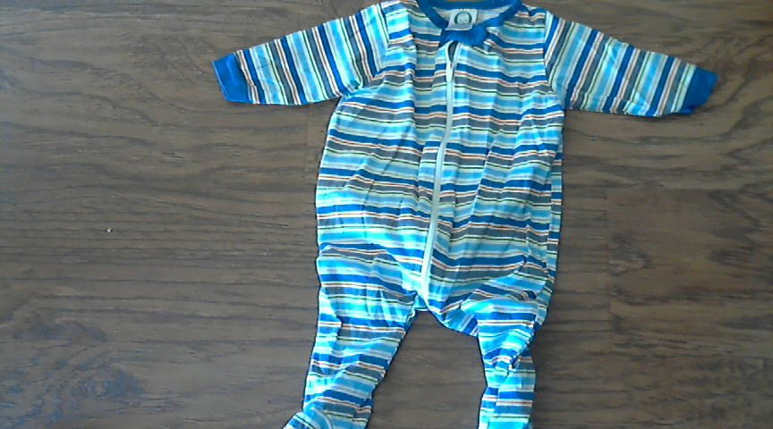 Gerber baby boy's striped bodysuit 0-3 mos
