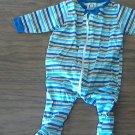 Gerber baby boy's striped bodysuit 0-3 mos