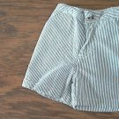 Izod baby boy's gray and white striped short 12 mos