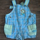 B.T. Kids baby boy's blue and yellow overall 3-6 mos