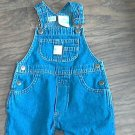 Arizona baby boy or girl denim overall 6-9 mos