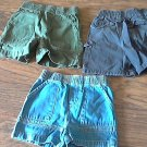 Lot of 3 piece Faded Glory baby boy's shorts 24 mos