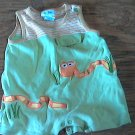6 mos baby boy's green sleepwear/outfit