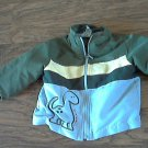 12 mos baby boy's green and yellow jacket