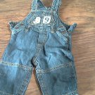 Carter's baby boy's denim overall 3-6 mos