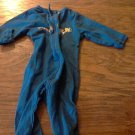Gerber baby boy's blue long sleeve bodysuit 3-6 mos
