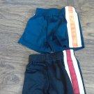 Garanimals baby boy's 2 piece black and navy shorts 12 mos