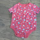 Garanimals baby boy's red short sleeve bodysuit 3-6 mos