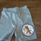 New Scooby-Doo girl's gray elastic waist short size 8