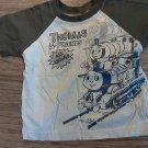 Thomas & Friends baby boy tan and green shirt 24 mos