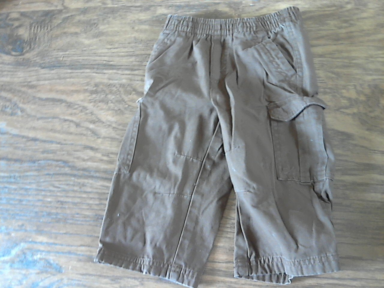 Faded Glory baby boy's brown pant 18 mos