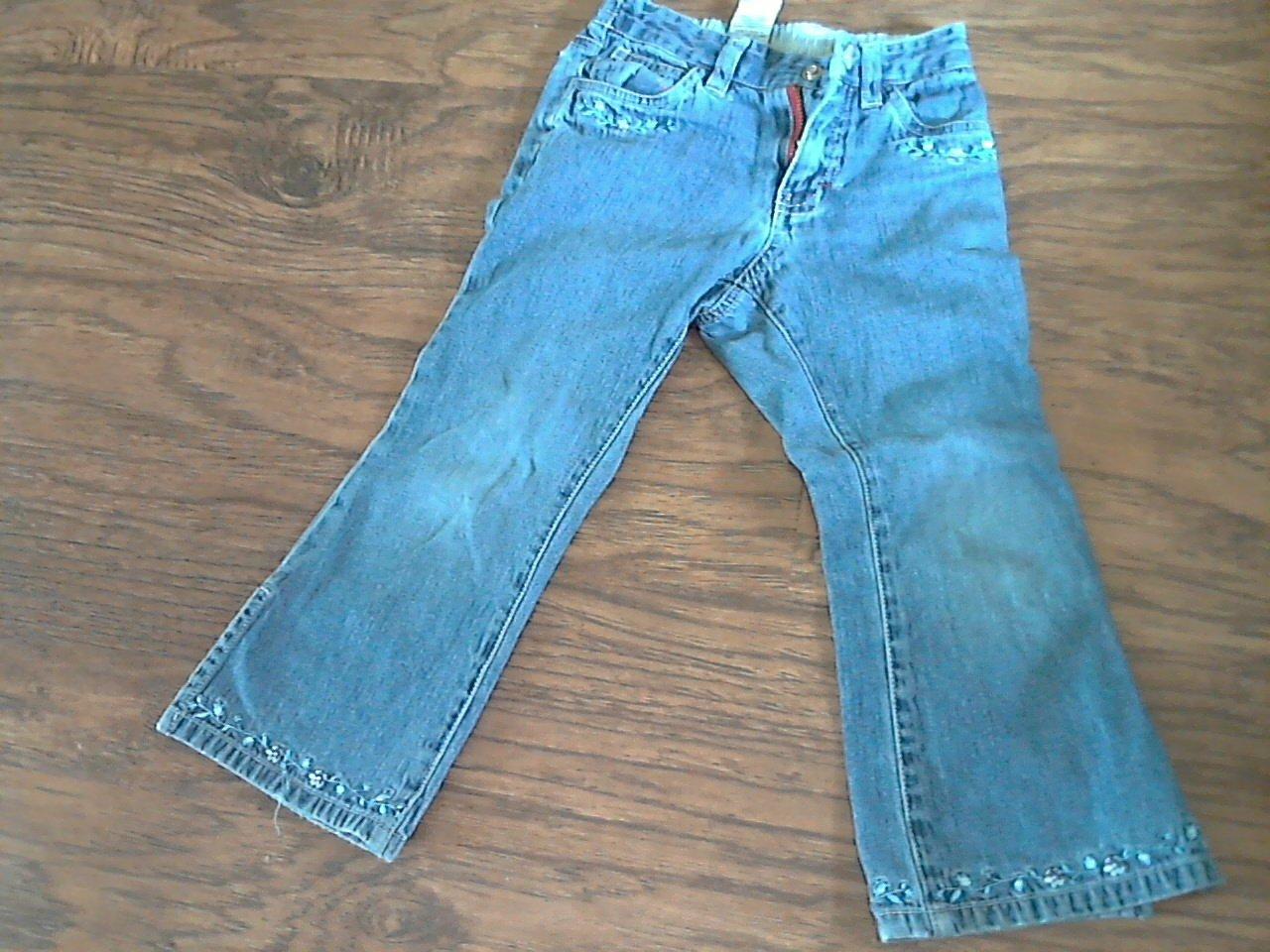 Tommy Hilfiger girl's denim blue pant 4T