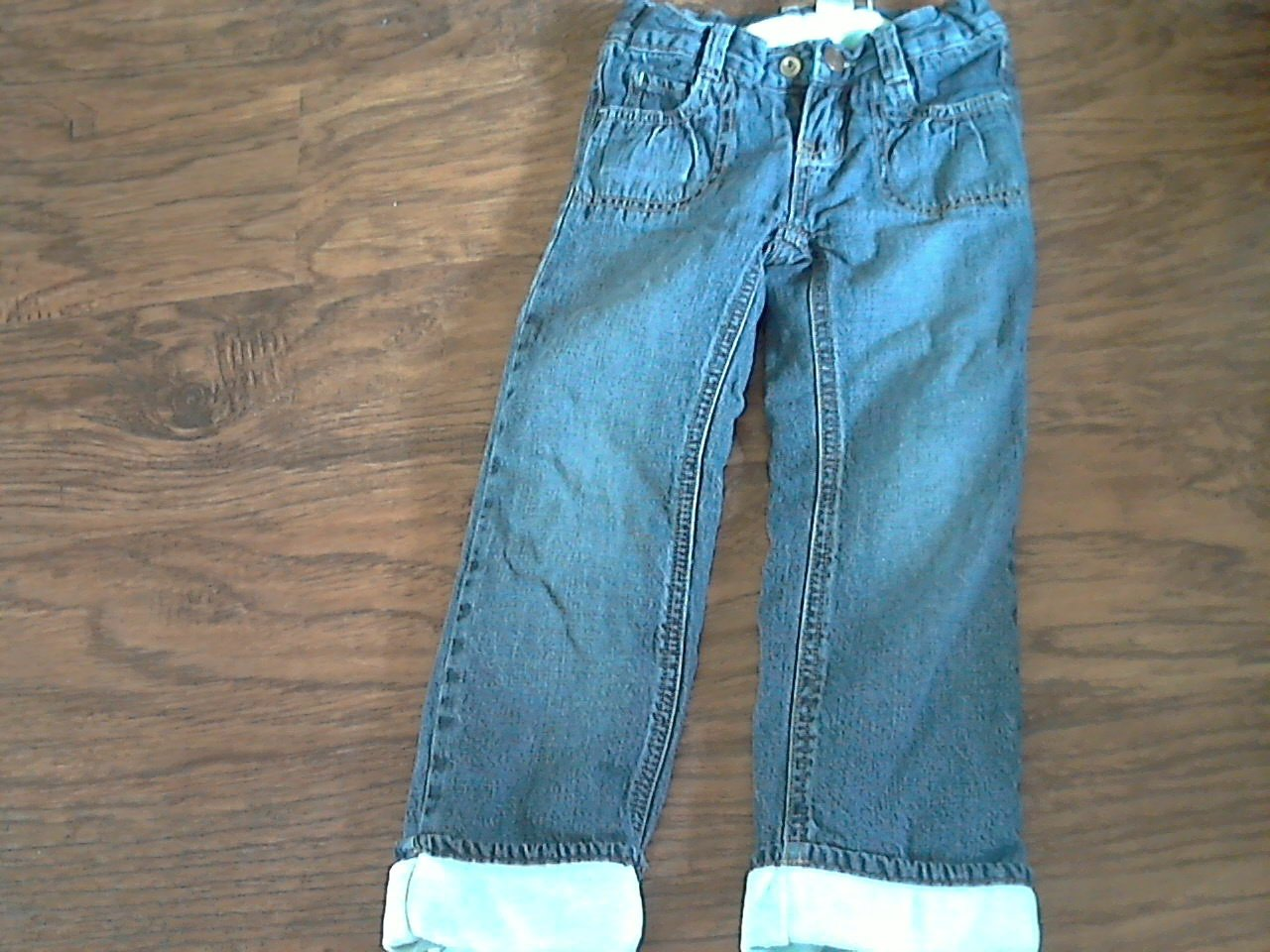 OshKosh girl's denim blue pant 4T