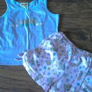 Scooby-Doo girl's purple sleepwear top short set 6/6x