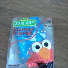 Sesame Street boy's blue blanket sleeper 1T
