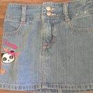 Gymboree toddler girl's blue denim skirt 3T