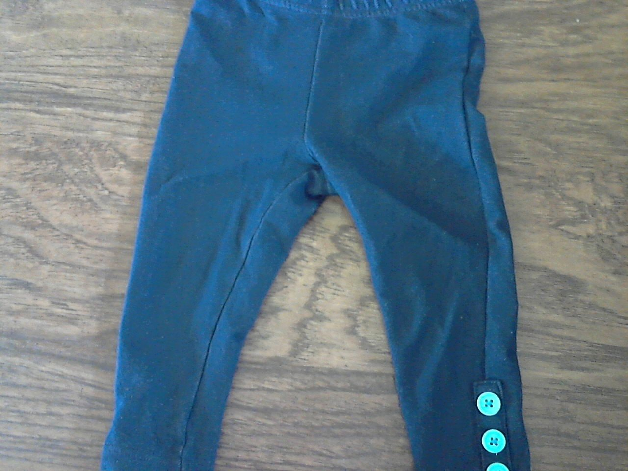 Nickelodeon baby girl's navy elastic waist pant 24 mos