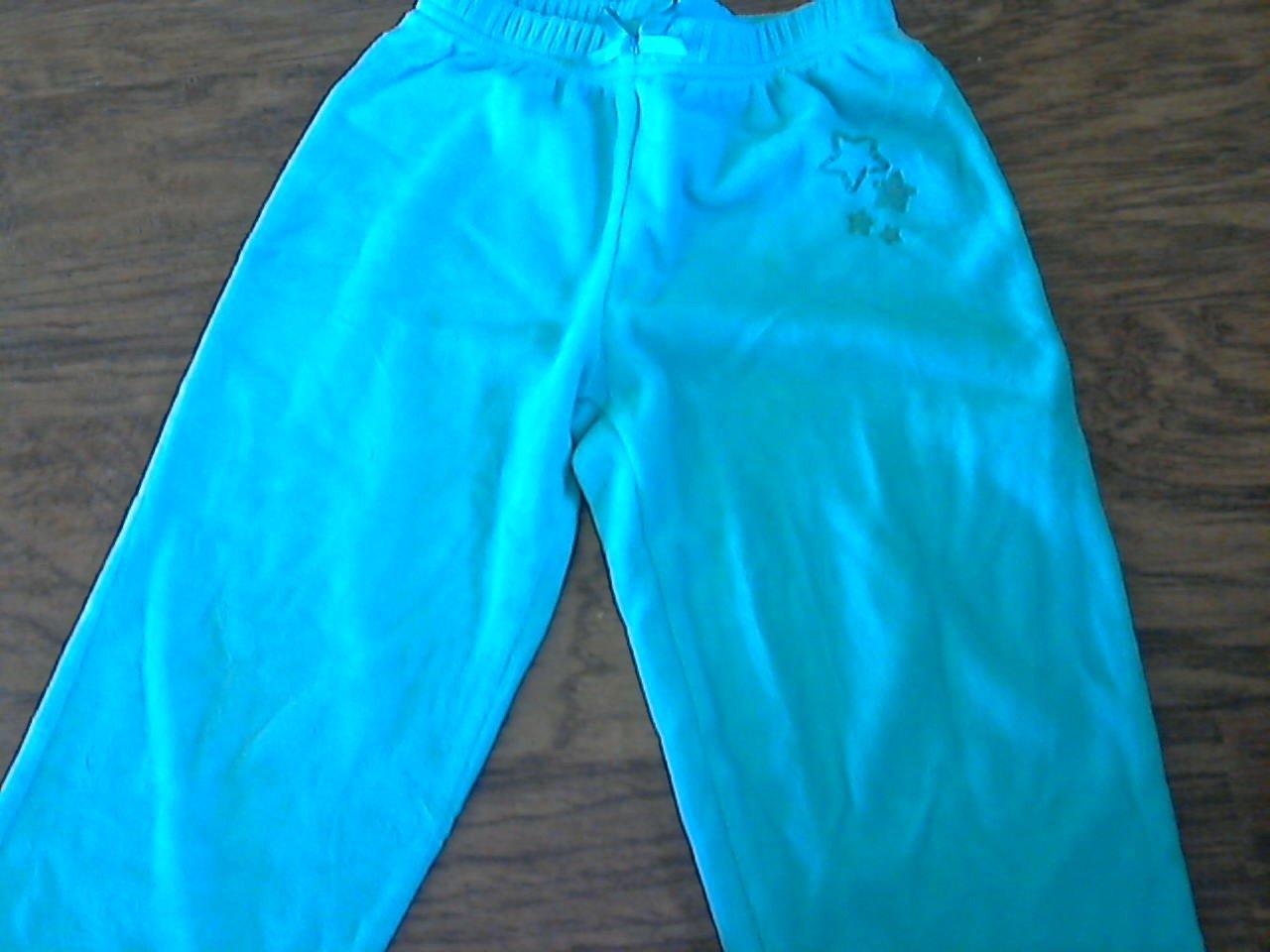 Arizona toddler girl's ocean blue elastic waist pant 3T