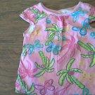 Garanimals girl's pink short sleeve top 3T