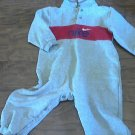Nike baby boy's gray long sleeve bodysuit 24 mos