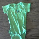 Garber baby boy or girl green short sleeve oneise 6-9 mos