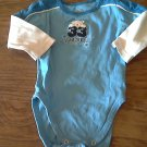 The Children's Place baby boys blue bodysuit 12 mos