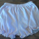 Baby girl's pink plaid elastic waist short 18 mos