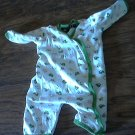 John Deere baby boy or girl tractors and animals prints long sleeve bodysuit 6/9 mos