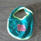 Baby boy's green bib one size