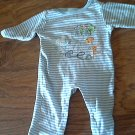 Snugabye baby boy's blue stripes sleepwear/outfit 6-9 mos