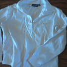 Kid Cool girl's white long sleeve shirt size 8