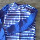 Garanimals toddler girl's purple stripped long sleeve shirt 5T